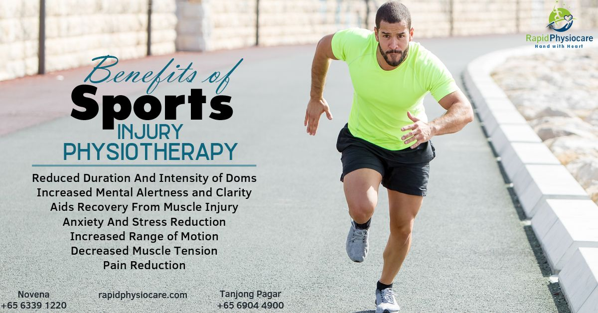 sports physiotherapy Singapore Physiotherapy, Sports