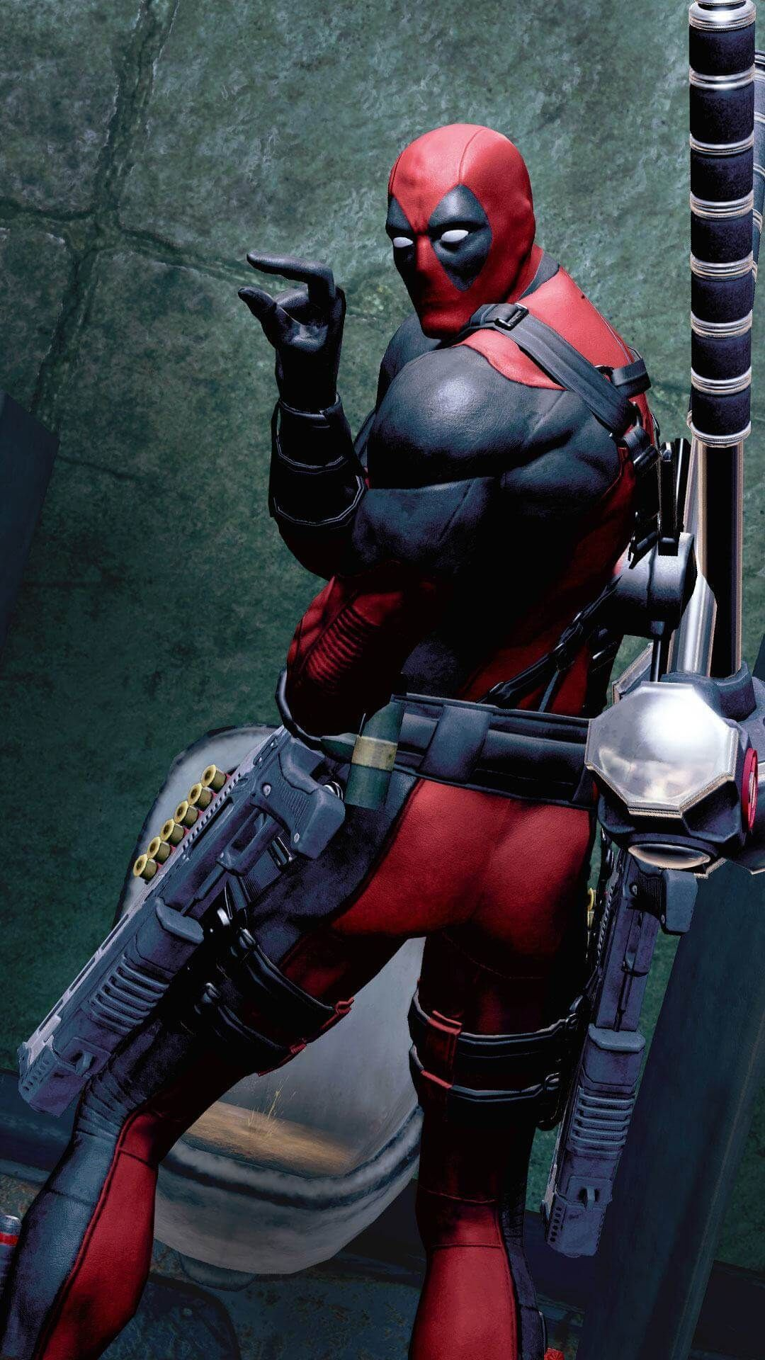 Wallpapers Iphone Backgrounds Deadpool Funny