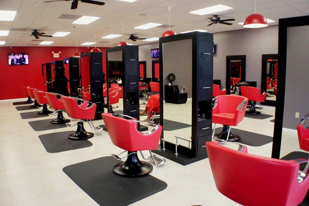 Crete Double Sided Salon Station Salon Equipment Salon