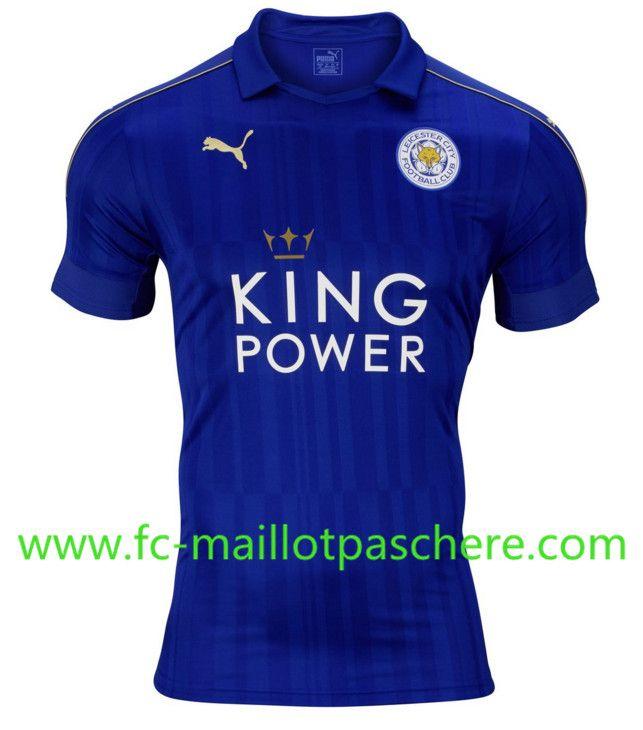 Promo Maillot Du Leicester City 2016 2017 Domicile Moins Cher Maillot
