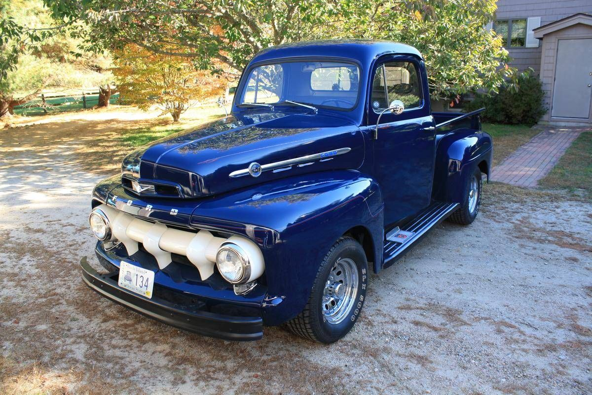 1952 Ford F150 For Sale With Images Classic Pickup Trucks Old