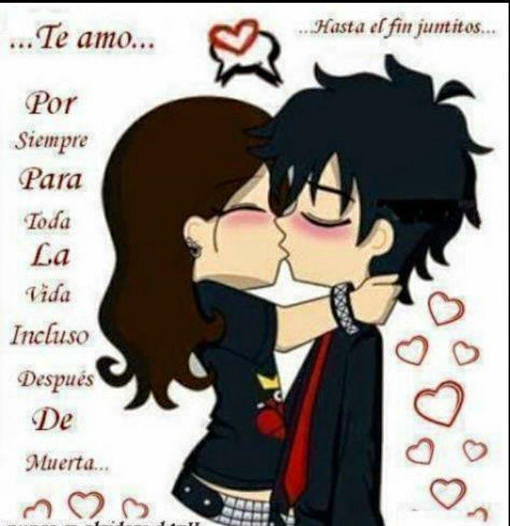 Imagenes Y Frase De Amor En Caricatura Amor Emo Imagenes De Amor Imagenes De Enamorados