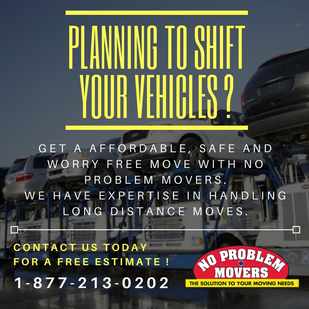 Planning to Shift your Vehicles? Get a Affordable, Safe