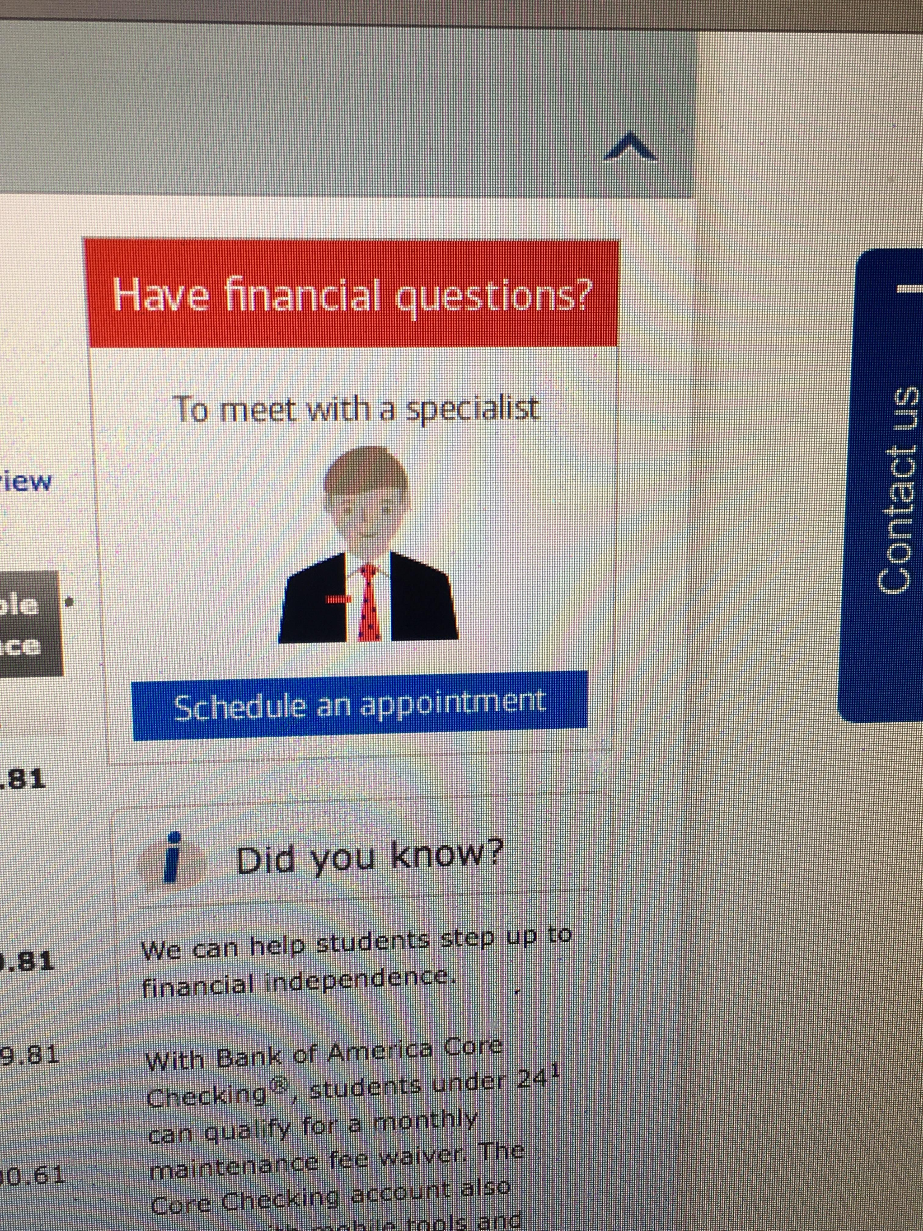 This Online Banking Character Looks Like Trump With Images