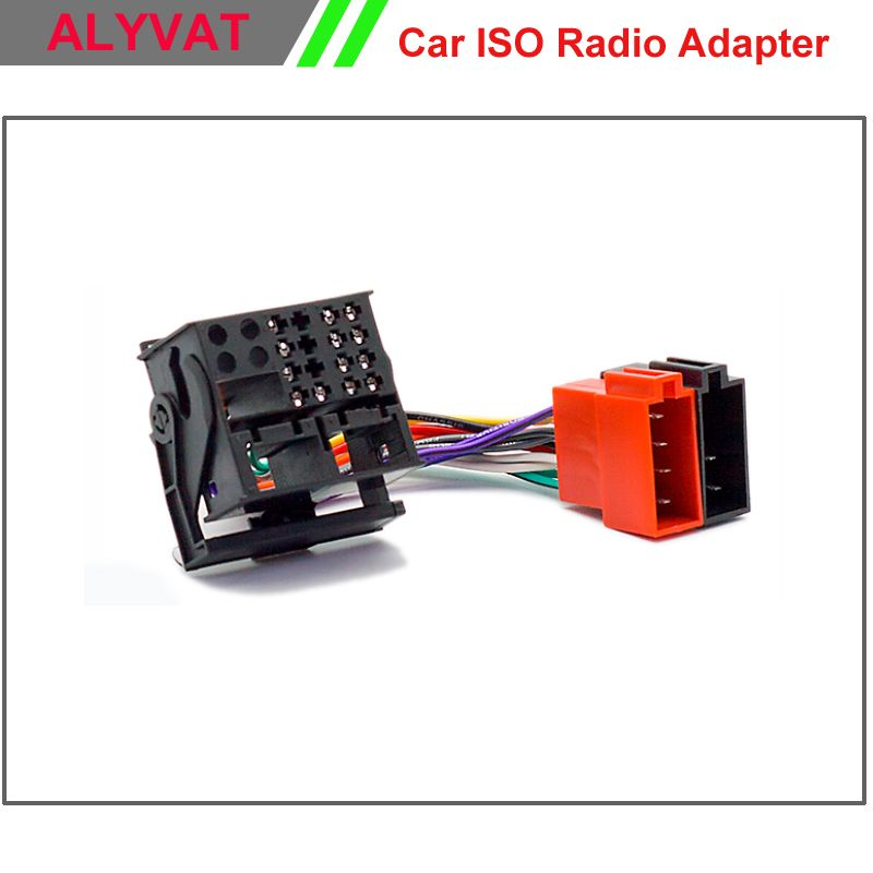 Car ISO Radio Adapter Connector For BMW Land Rover Defender Range ...