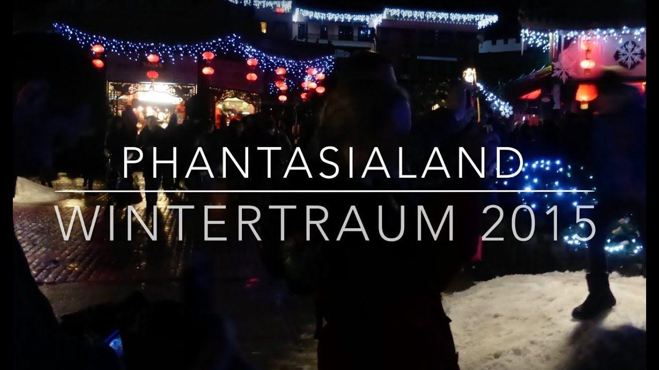 Wintertraum Phantasialand 2015 Youtube Phantasialand Freizeitpark Winter