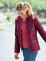 Medallion Reversible Jacket and other Womens Jackets at Appleseed?s.   Appleseeds