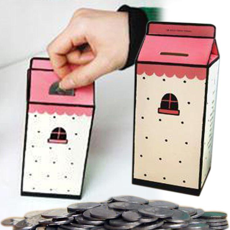 English Dictionary Hidden Money Box Piggy Bank Kids Children Adults Gift D