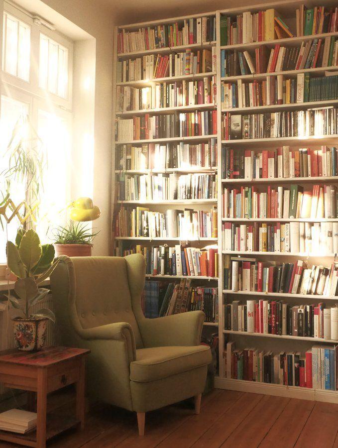 Sonne für die Bücher