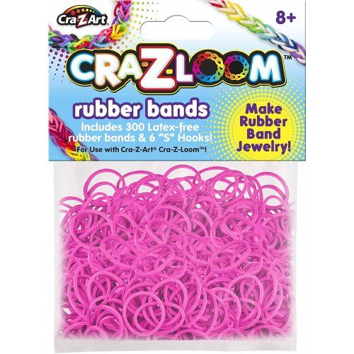 The Cra-Z-Art Shimmer 'N Sparkle Cra-Z-Loom Fashion Colors Rubber Bands – Bright Pink « Game Searches