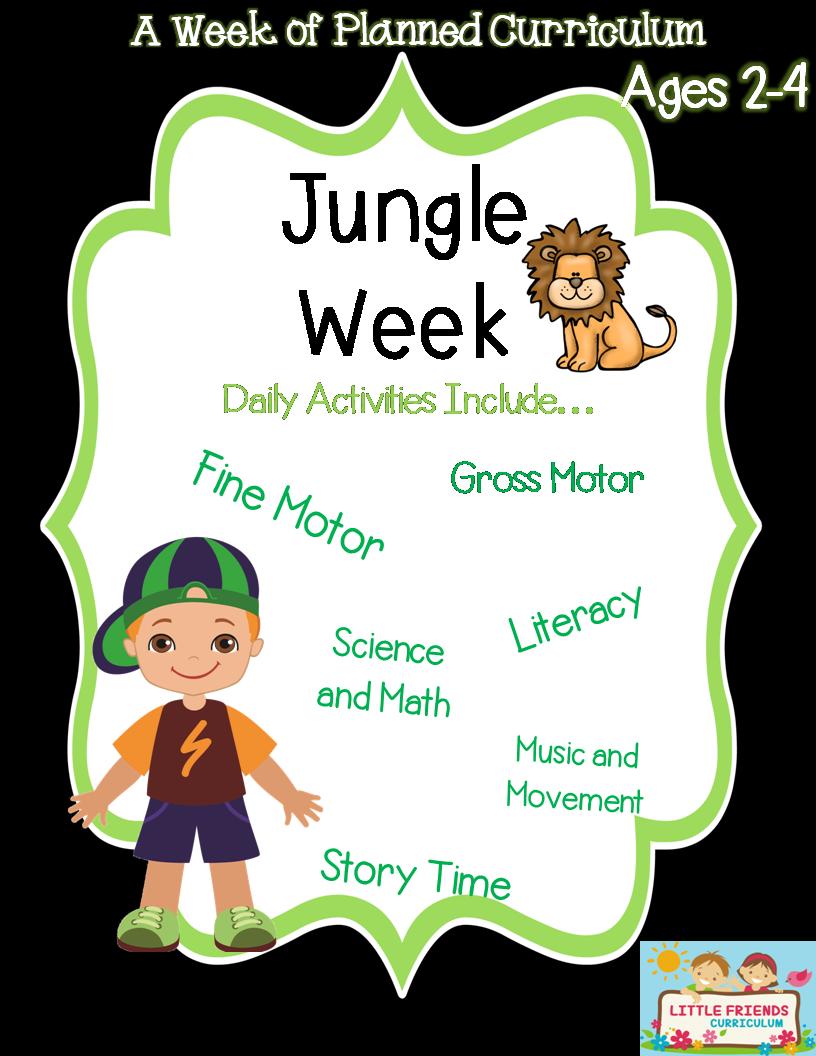 Jungle week preschool curriculum | Gross motor activities, Preschool ...