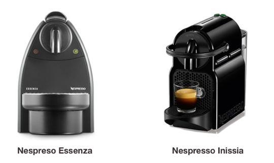 Nespresso Essenza Vs Inissia A Comparison Between Nespresso S