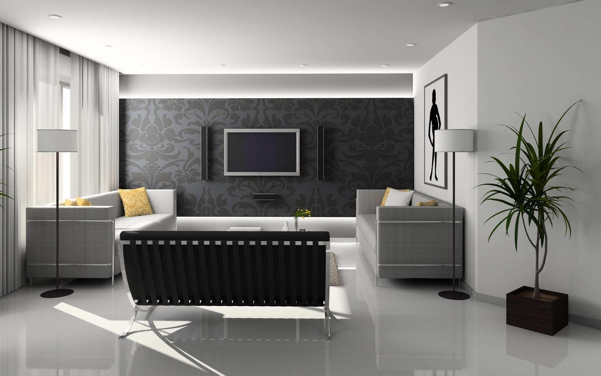 Freenom World Best Home Interior Design House Interior Contemporary Living Room
