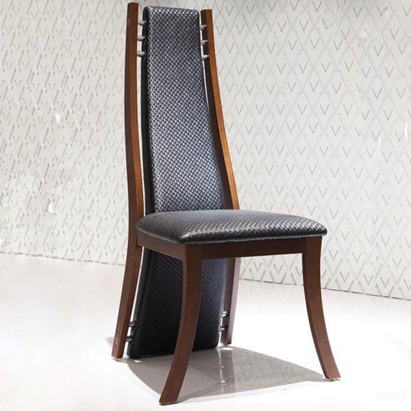 Vertigo Est Un Modele De Chaise Moderne Assortie A La Table Factory A Choisir En Bois Ou En Metal Pour Un Style Plus Indus Chaise Moderne Chaise Design Chaise