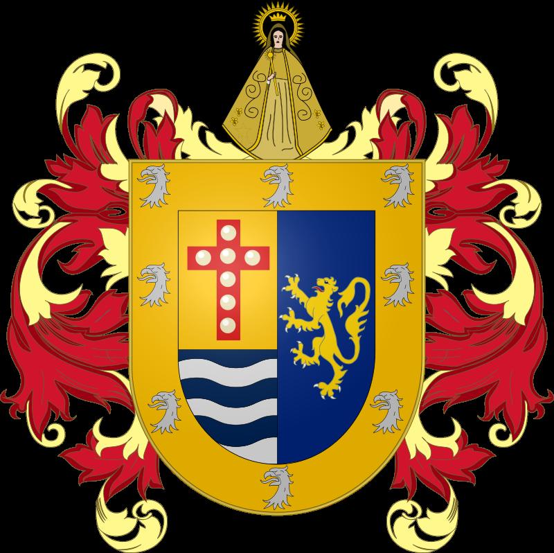 ¿Sabías que en la parte superior del Escudo de Cumaná se encuentra la imagen de Santa Inés?