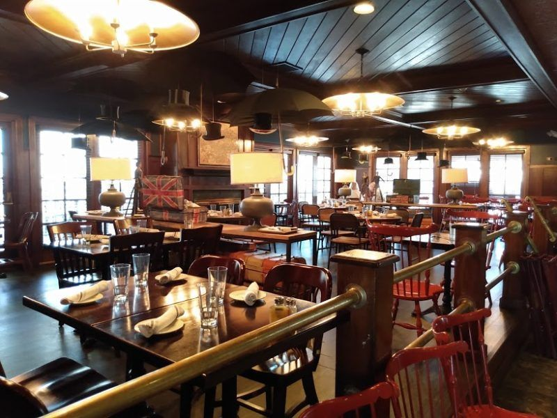 Tucker's Tavern in Beach Haven Tavern, Beach haven, Pub food