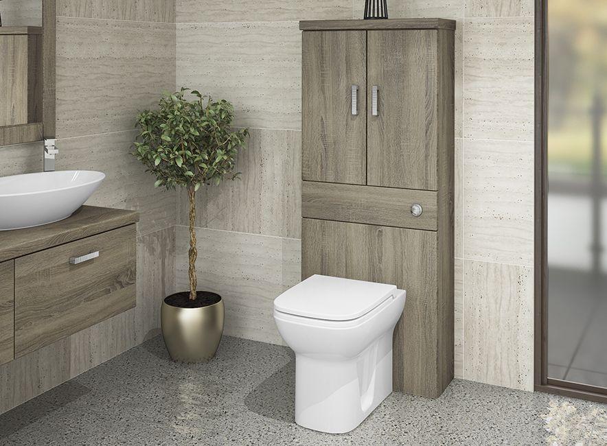 Bardolino Oak Linear Bathroom Furniture - Bardolino Oak is ...