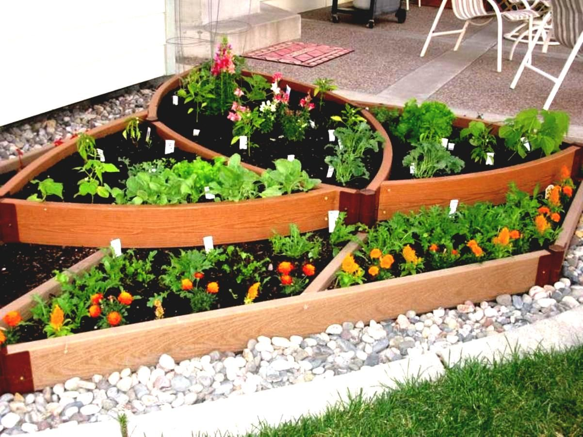 Small Flower Bed Ideas For Front Of House Home Design Yard Garden .