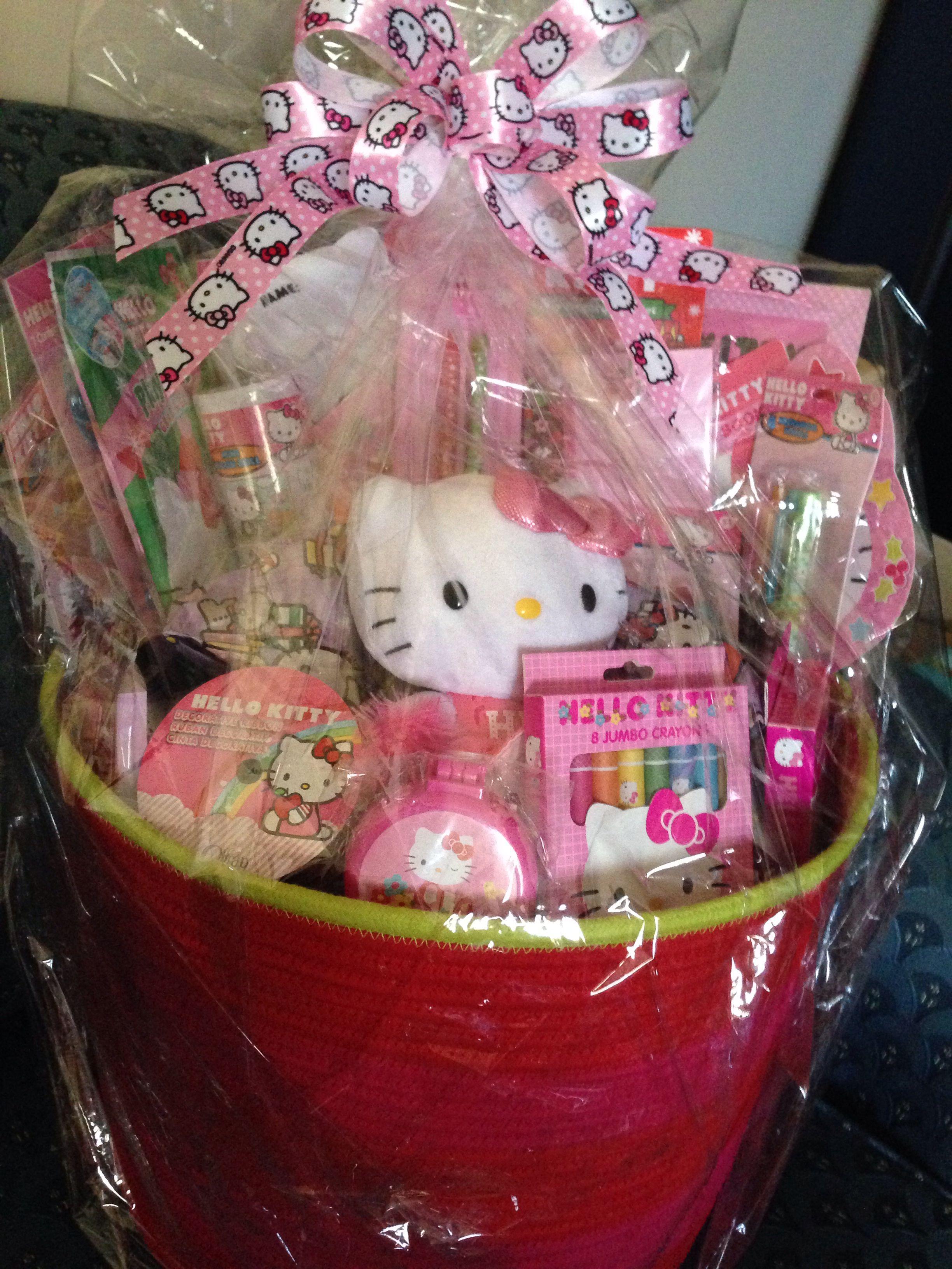 Hello Kitty Gift Basket
