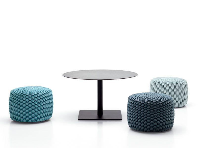 Height Adjustable Round Coffee Table Giro Coffee Table Paola Lenti Coffee Table Outdoor Pouf White Home Decor