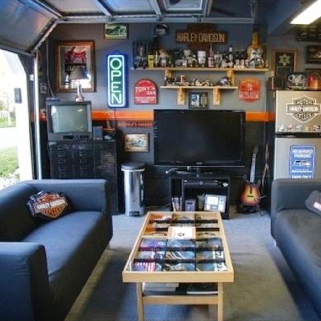 Man Cave Ideas Garage Man Cave Ideas On A Budget Clever Diy