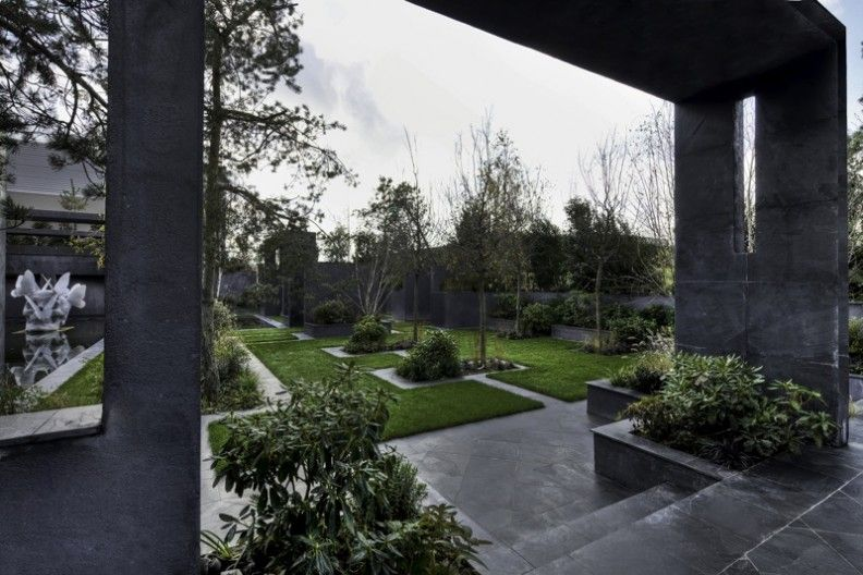 Philippe Pasqua The Showroom Landscape Design Garden Design Woodland Garden