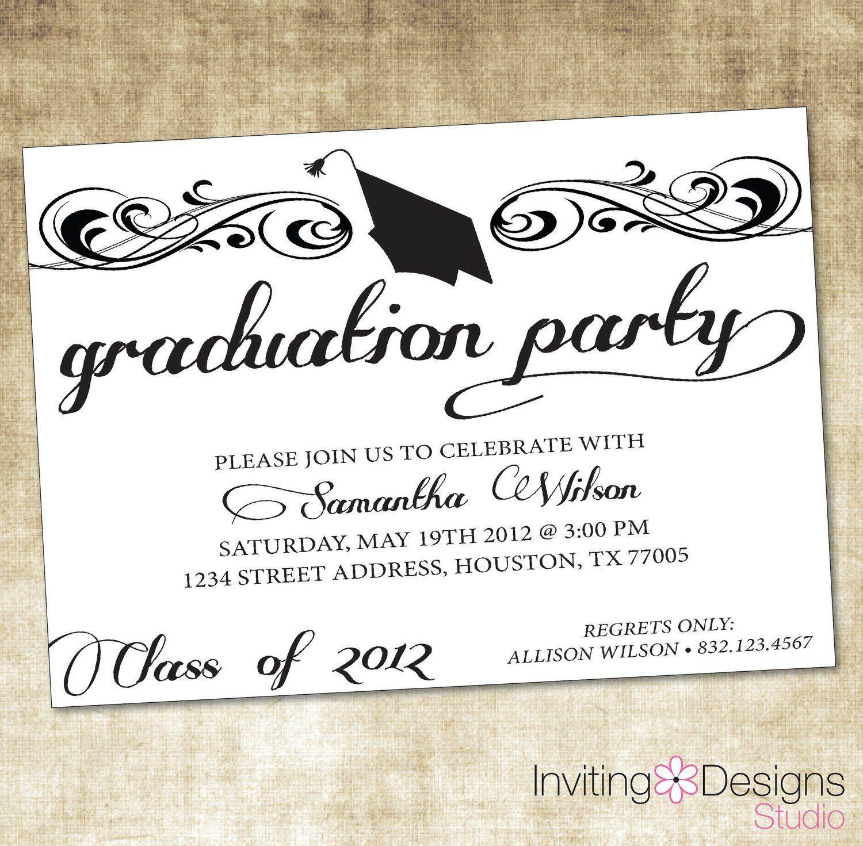 Graduation Invitation Templates Microsoft Word Free Graduation Party Invitations Printable Graduation Party Invitations Templates Graduation Party Invitations