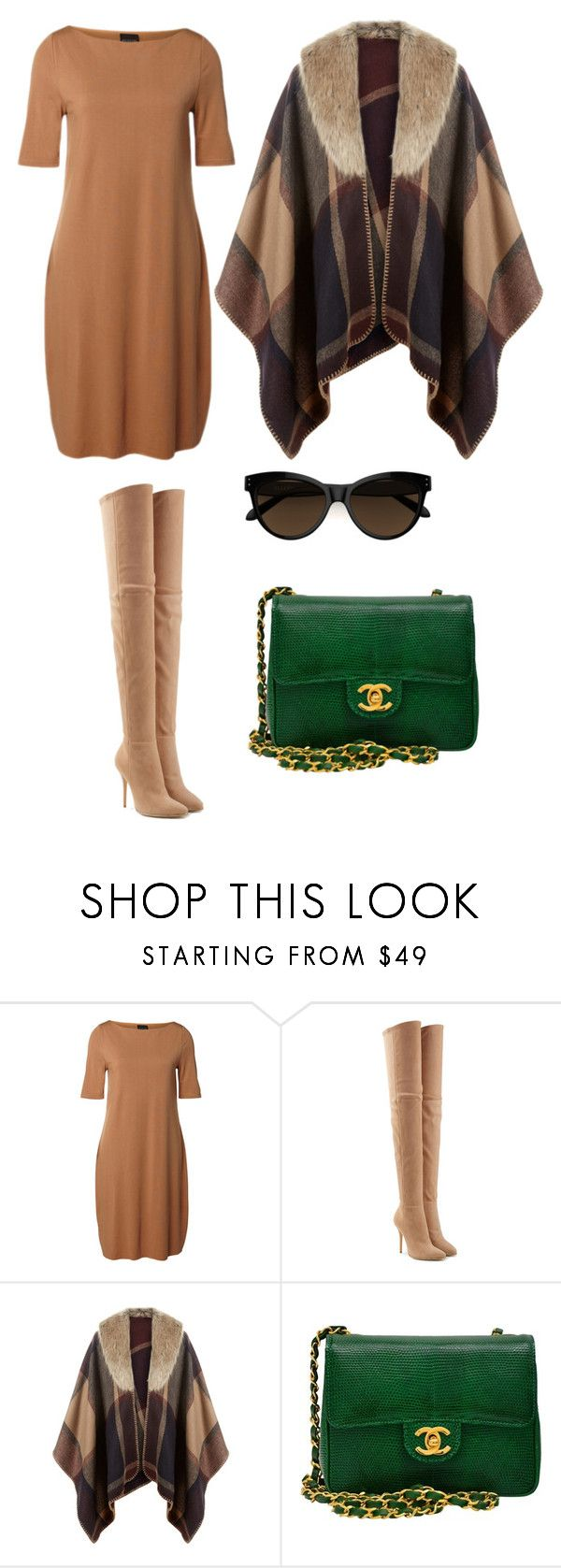"""""""Fall Collection 2016"""" by rebeca-frausto on Polyvore featuring SELECTED, Balmain, Accessorize y Chanel"""
