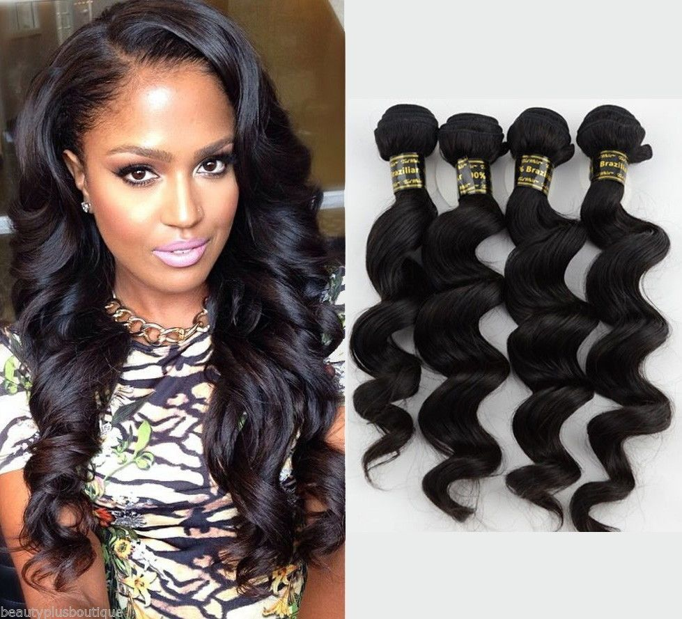 3pcs 161820 brazilian virgin human hair extensions loose wave 3pcs 161820 brazilian virgin human hair extensions loose wave hair 300g pmusecretfo Image collections