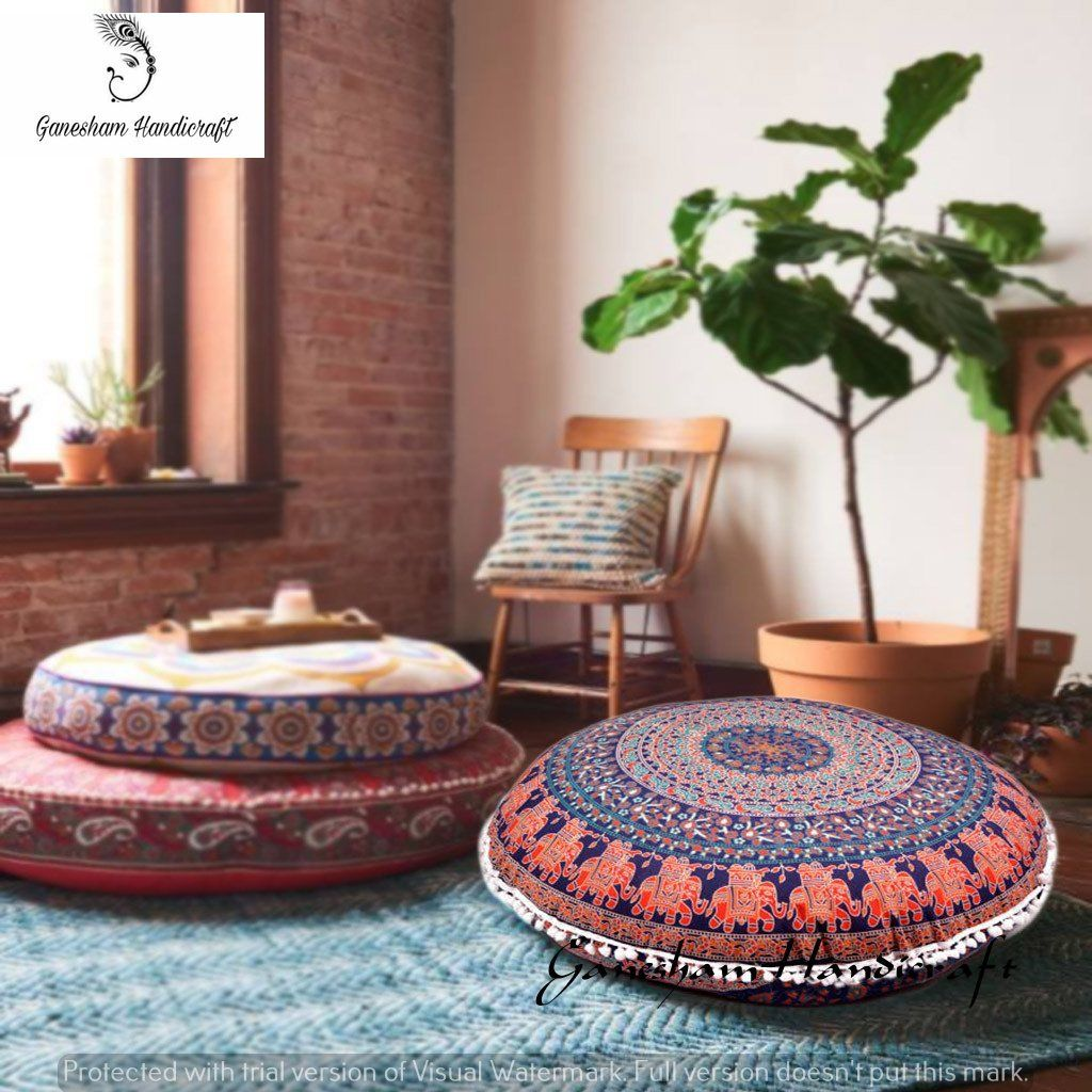 Image result for giant huge floor pillow day bed round 20 x 20 ...