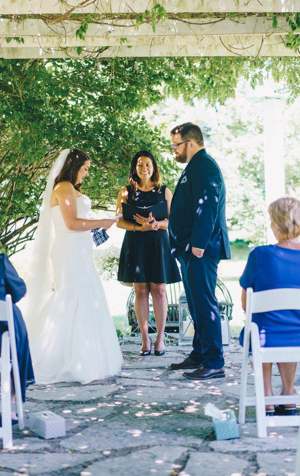 Lovely Little Elopement   Rental wedding dresses, Savvy bride ...