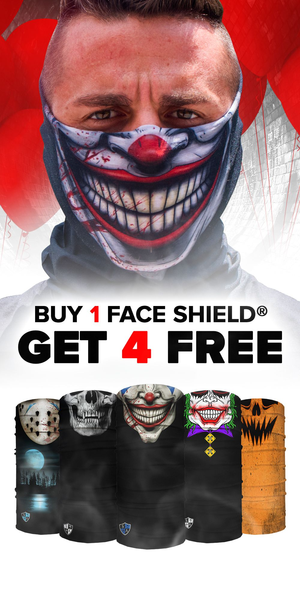 Buy 1, Get 4 Free Pick Your Pack Halloween decorations