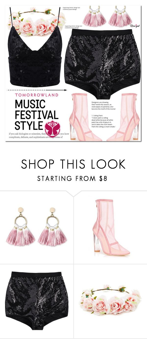 """It's All About Having Fun"" by asteroid467 ❤ liked on Polyvore featuring SUGARFIX by BaubleBar, TOMORROWLAND, Forever 21, polyvorecommunity, festivalfashion and PolyvoreMostStylish"
