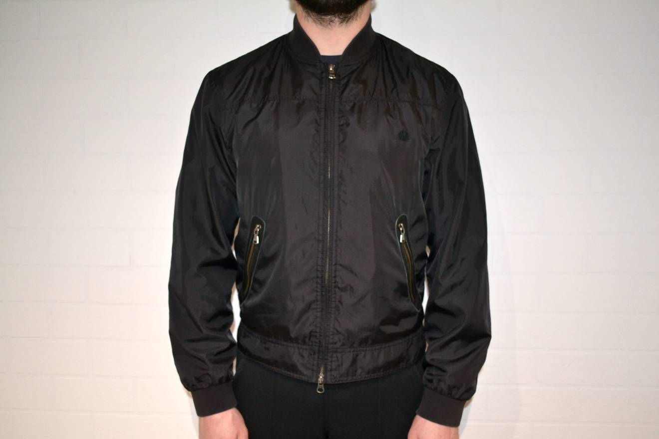 21365268 Versace Versace Black Bomber Size US M / EU 48-50 / 2 | Outfit ideas ...