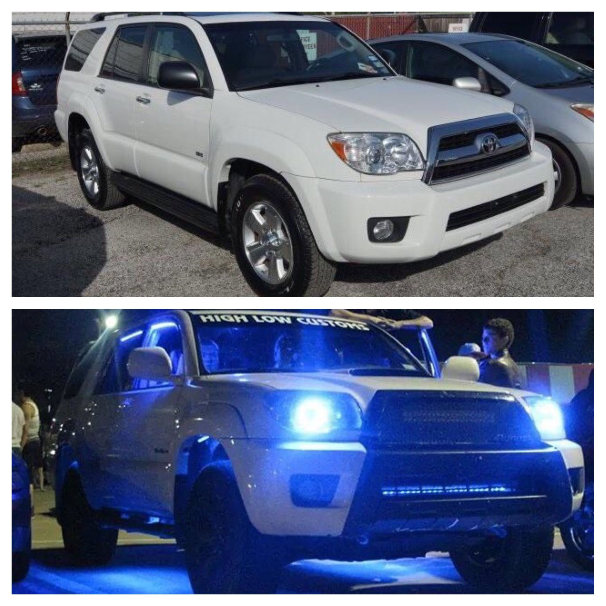 4runner with blue underglow wheel well grill lights custom mesh 4runner with blue underglow wheel well grill lights custom mesh grill 20 light bar lifted system 18 sub dc audio level 4 sport edition hood scoop fast mozeypictures Choice Image