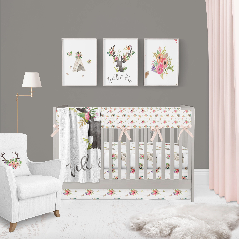 Pin by Amanda Ortega on Baby Ortega Girl nursery bedding