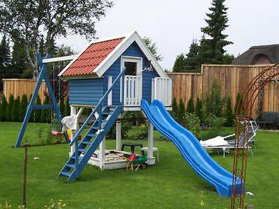 Kinderspielhaus Madita 2 X 2m Kinderhaus Holzhaus Stelzenhaus Mit Sandkasten Kinder Spielhaus Garten Spielhaus Garten Kinderhaus