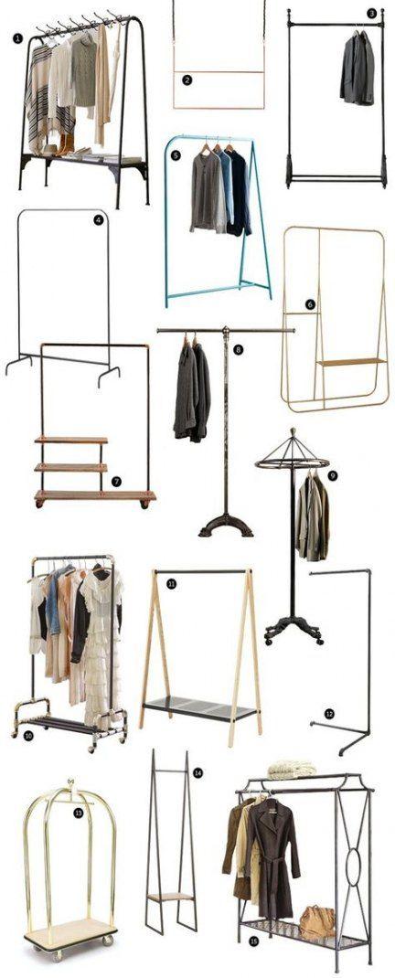 Bedroom Closet Doors Diy Shops 64+ Trendy Ideas -   13 DIY Clothes Rack the doors ideas