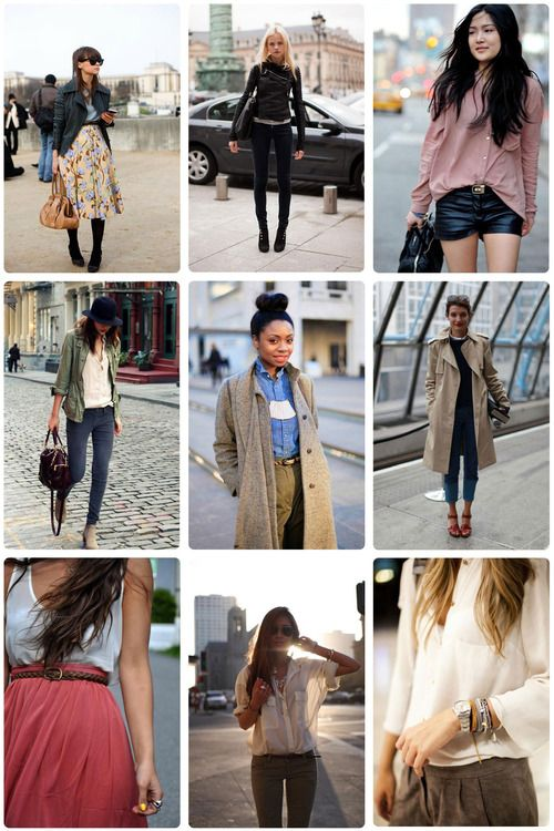 a few looks I like right now.