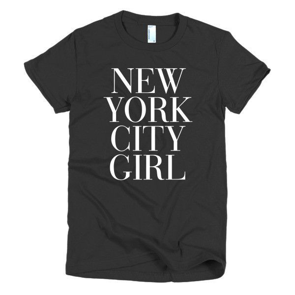 451b7ec9d58713 New York City Girl Women s T-shirt - AVAWILDE