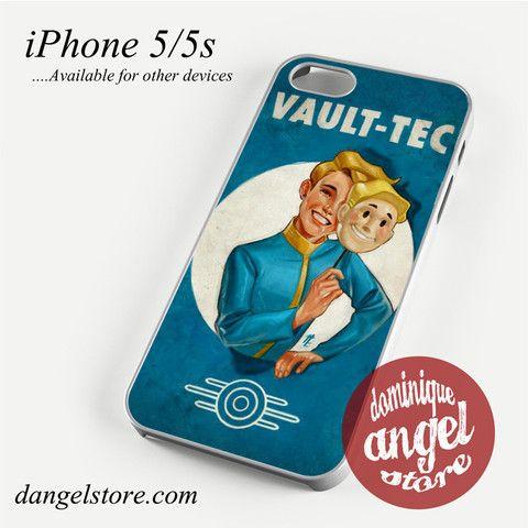 Fallout 4 Vault Tech Phone case for iPhone 4/4s/5/5c/5s/6/6 plus