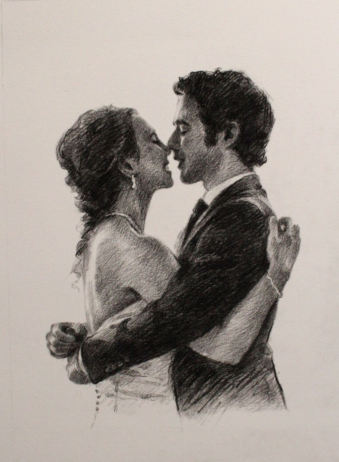 Drawing charcoal hustband gift fiancé gift mens personalized gift for husband gift for fiancé art gift by OliFineArt on Etsy https://www.etsy.com/listing/266200236/drawing-charcoal-hustband-gift-fiance