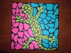 Art Lesson Plans | Animal Mosaic Lesson Plan - Elementary Art Educational Resources                                                                                                                                                      Más