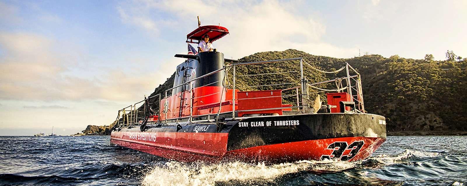 Undersea Expedition SemiSubmersible Vessel Visit