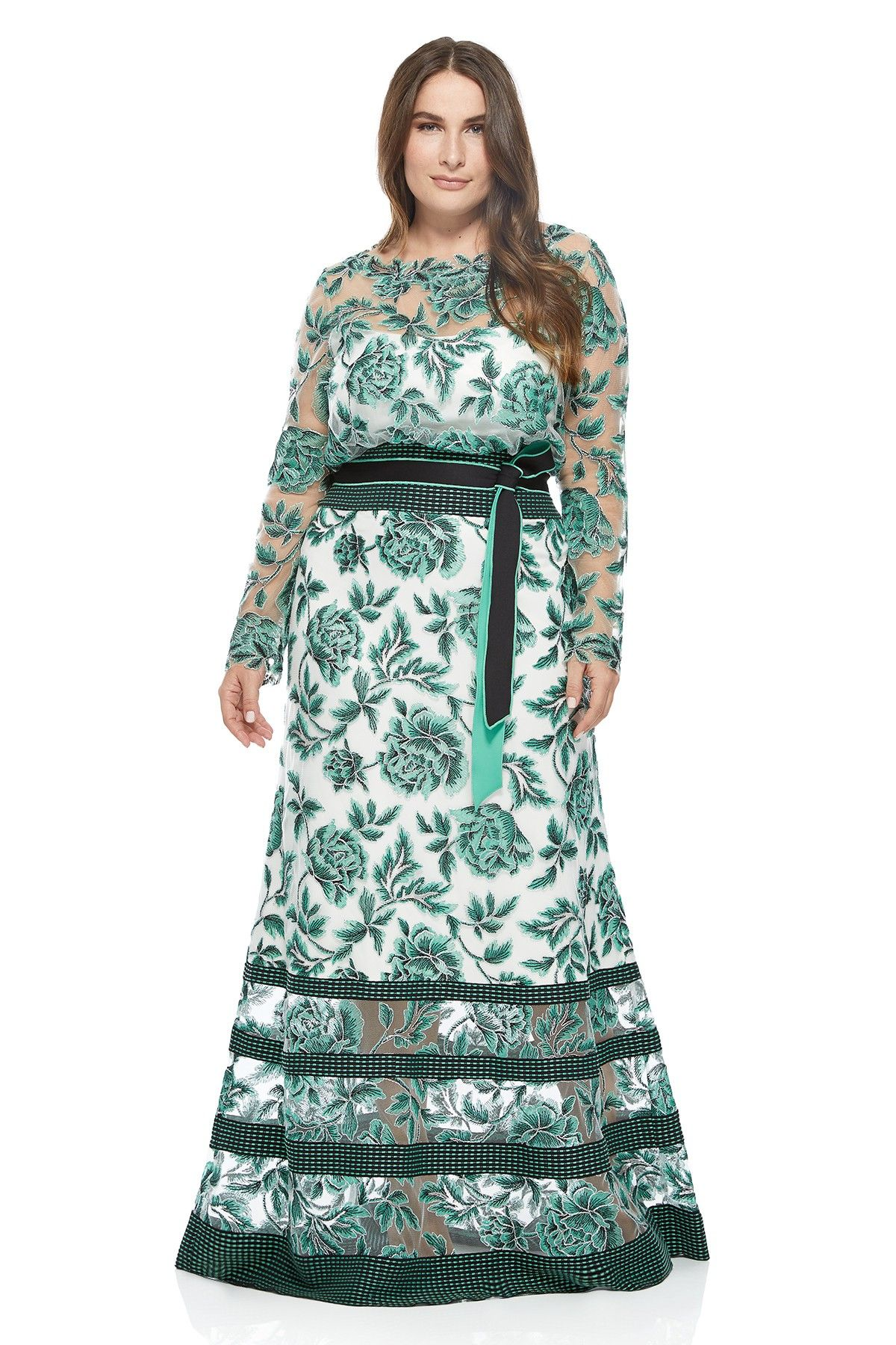 a68ede24b3a Tadashi Shoji Plus Size - Yama Gown