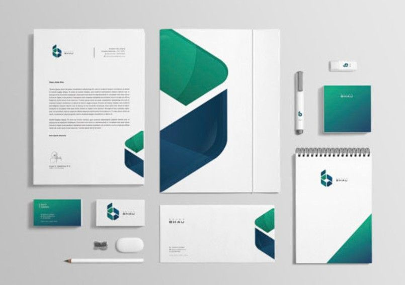 Corporate Identity Design & Merchandise for a Construction Company | Cubic Promote