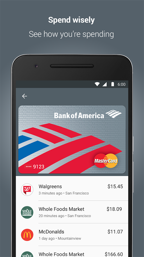 Pin on Payments UI