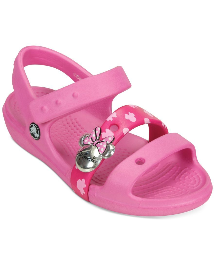 5266c37f44f Crocs Little Girls  or Toddler Girls  or Baby Girls  Keeley Minnie Sandals