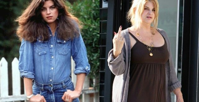 """KIRSTIE ALLEY, 64 Award-winning actress and comedian Kristie Alley could capture your heart and leave you laughing for days in a matter of minutes. Today, it seems the only thing stealing the spotlight is her yo-yoing weight and """"screw you"""" diet plan."""
