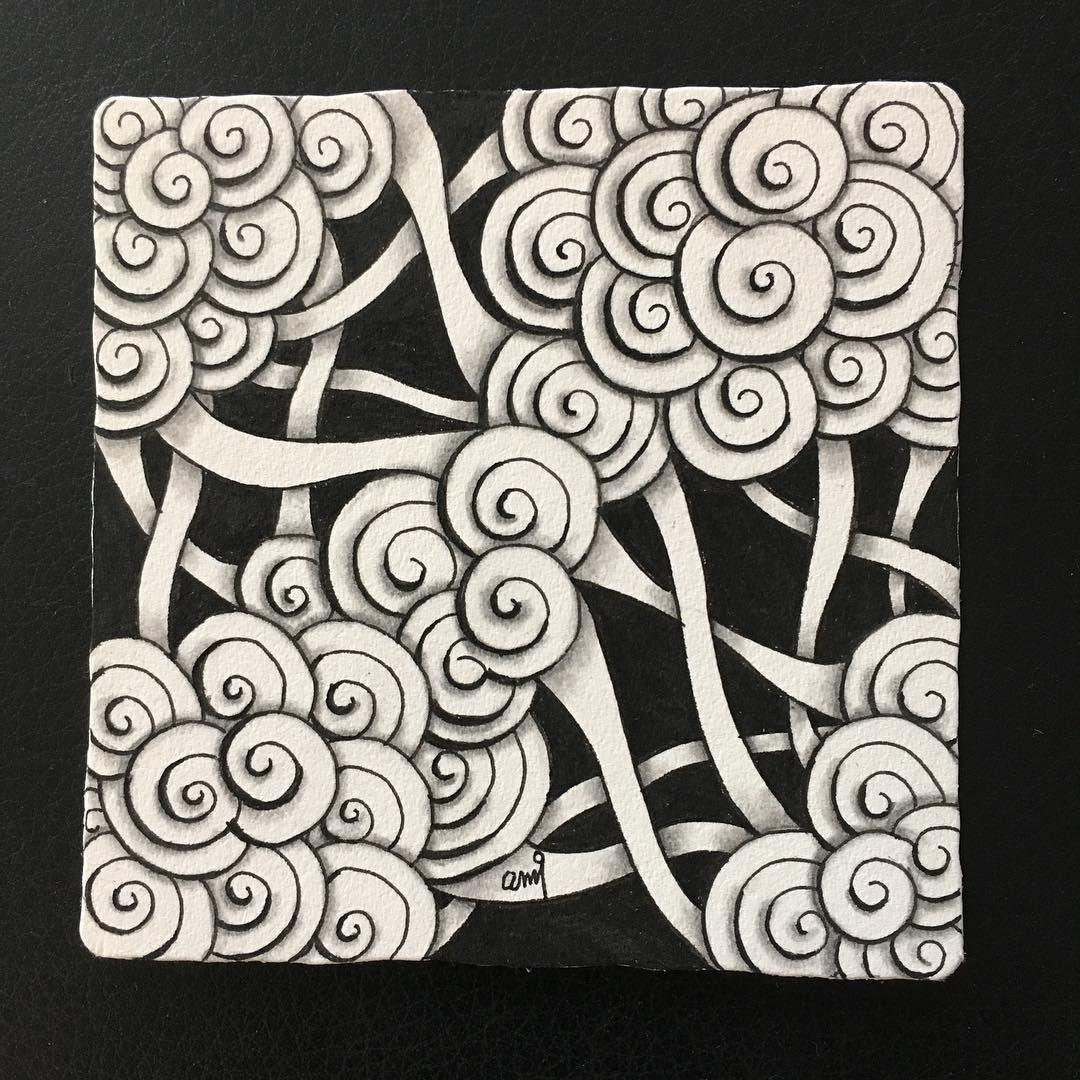 Pin de christa en Zentangle Art | Pinterest | Zentangle y Patrones